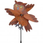 The Backyard Naturalist's Brown Owl Wind Spinner
