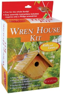 Build-a-Wren-House-Kit