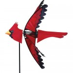 The Backyard Naturalist's Cardinal Wind Spinner