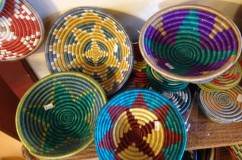 Handwoven Baskets from Rwanda