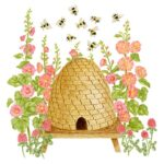 The Backyard Naturalist has Alice's Cottage new Spring 2021 Collection, including 'Honey Bee Hive'.