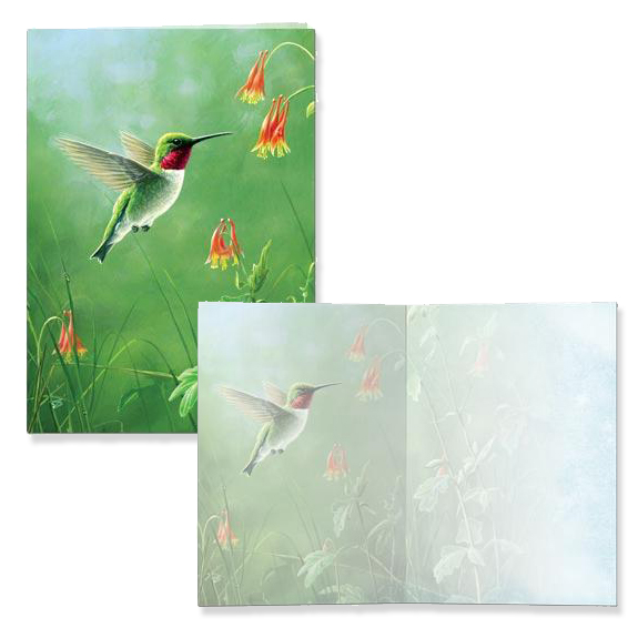 The Backyard Naturalist has nature-themed greeting cards and stationery for all occasions.
