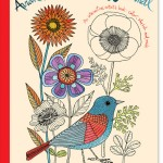 The Avian Friends Activity Journal Coloring Book for Grown Ups, New at The Backyard Naturalist.