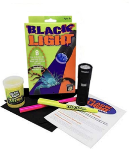 The Backyard Naturalist has Black Light Science Kits for children.