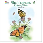 Butterflies Coloring Books for Grown Ups, New at The Backyard Naturalist.