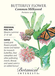 The Backyard Naturalist's Butterfly Flower Common Milkweed Irresistible Blend