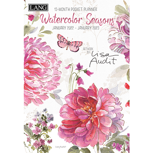 The Backyard Naturalist has the new 2022 Pocket Planner calendars in stock, including 'Watercolor Seasons' (front pictured).