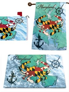 The Backyard Naturalist has the Chesapeake Crab Decorative Flag, Doormat and Mailbox Cover