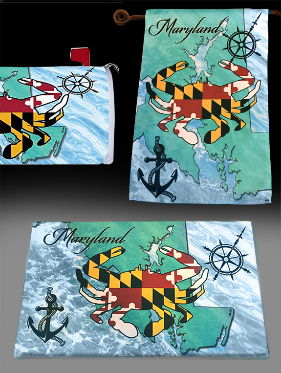 The Backyard Naturalist has the DC Metro, Maryland area's best selection of decorative flags, doormats and mailbox covers.