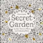 Secret Garden Coloring Book for Grown Ups, New at The Backyard Naturalist.