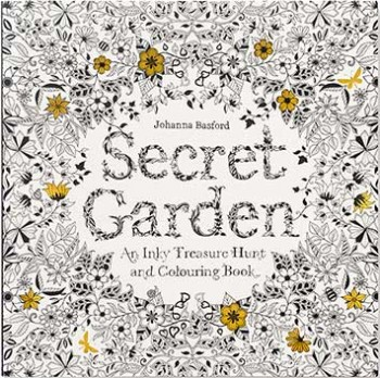 Secret Garden Coloring Book For Grown Ups New At The Backyard Naturalist An Inky Treasure