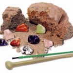 The Backyard Naturalist has science kits for budding gemologists and rock hounds. Mine for crystals.
