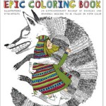 The Doodlers Anonymous Epic Coloring Book for Grown Ups, New at The Backyard Naturalist.