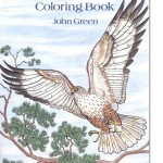 Birds of Prey Coloring Book for Grown Ups, New at The Backyard Naturalist.