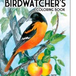 The Birdwatcher's Coloring Book for Grown Ups, New at The Backyard Naturalist.