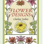 Flower Designs Coloring Book Now at The Backyard Naturalist.