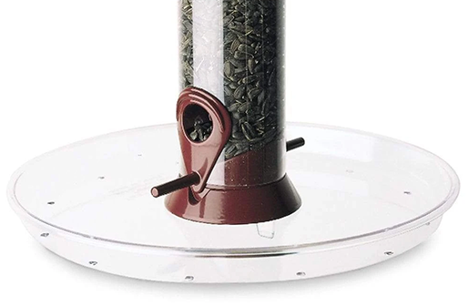 The Backyard Naturalist stocks Droll Yankees Feeder Seed Trays, including the 10.5 inch Omni.