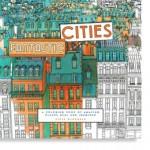 Fantastic Cities Coloring Book for Grown Ups, New at The Backyard Naturalist.