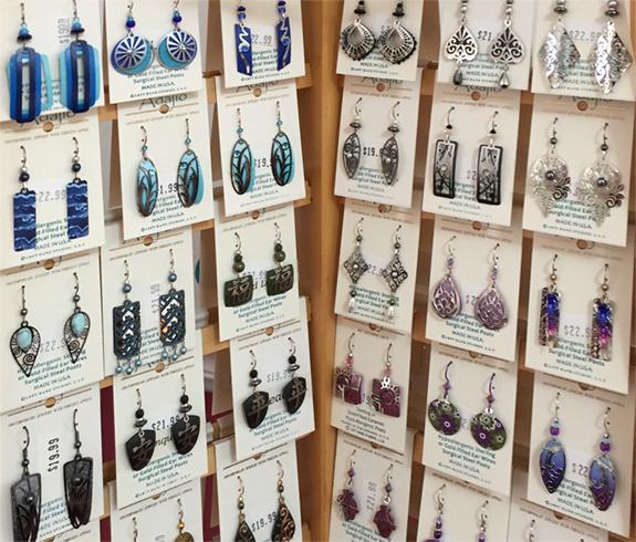 The Backyard Naturalist has Adajio earrings for 2020 in stock.