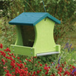 The Backyard Naturalist carries Woodlink's Going Green suet and seed hopper feeders. Made from recycled materials.