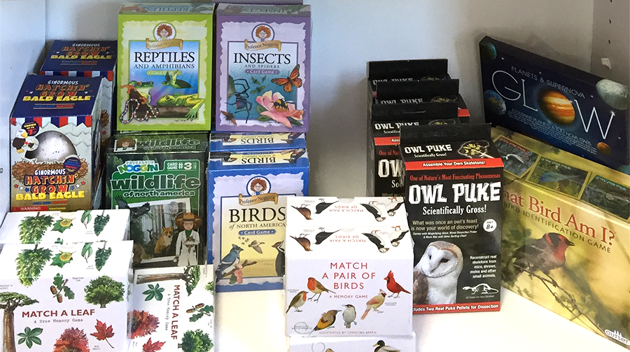 The Backyard Naturalist Annex Nature-themed Games, Puzzles and more for children of all ages.