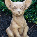 The Backyard Naturalist has a selection of Garden Statuary that includes 'Chihuahua Puppy'.