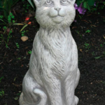 The Backyard Naturalist has a selection of Garden Statuary that includes 'Sitting Cat'.