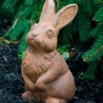 The Backyard Naturalist has a selection of Garden Statuary that includes 'Small Sitting Rabbit'.