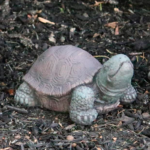 The Backyard Naturalist has a selection of Garden Statuary that includes 'Extra Small Tortoise/Turtle' only five inches!