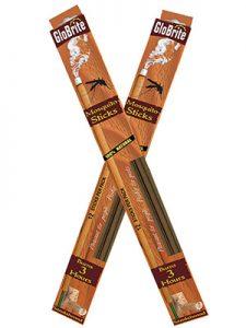 "The Backyard Naturalist has Australian Sandalwood Mosquito Repellent that you burn like incense, Glo-Brite 18"" sticks"