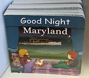 The Backyard Naturalist has the bedtime book most requested by Maryland kids: Good Night, Maryland