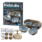The Backyard Naturalist store has fun and educational science projects for children, like Grow Your Own Crystal Geode kits.