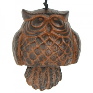 Woodstock Habitat Owl Wind Bell at The Backyard Naturalist