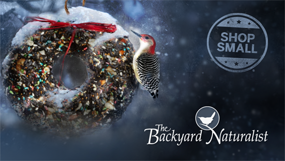 Gift Certificates! The Backyard Naturalist has Holiday Present Ideas for ev every age and within any budget.