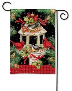 he Backyard Naturalist Holiday Flag Selection for 2020 includes 'Christmas Dinner'' garden flag