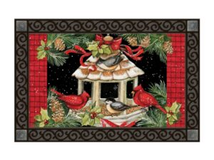 he Backyard Naturalist Holiday Flag Selection for 2020 includes 'Christmas Dinner' floor door porch mat rug