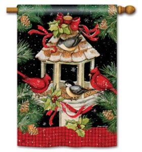 he Backyard Naturalist Holiday Flag Selection for 2020 includes 'Christmas Dinner' standard house flag