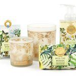 The Backyard Naturalist stocks Michel Design Works 'Into the Woods' lotions, soaps and candles.