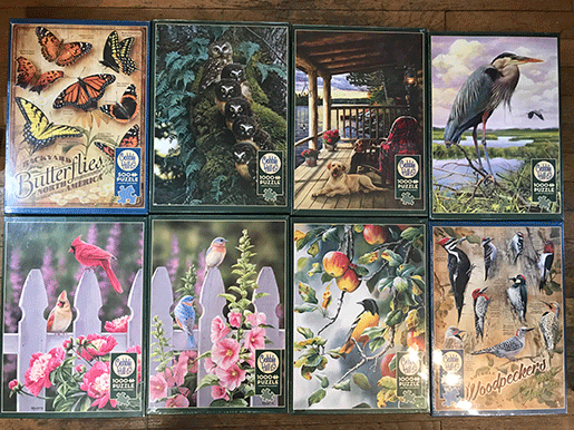 Jigsaw Puzzles for Ordering & Pickup from The Backyard Naturalist store.