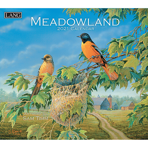 The 2021 Lang Meadowland Wall Calendar is now in stock at The Backyard Naturalist.