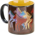 "The Backyard Naturalist has Laurel Burch illustrated mug ""Native Horses"" in stock now."