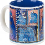 "The Backyard Naturalist has Laurel Burch illustrated mug ""Indigo Cats Portrait"" in stock now."