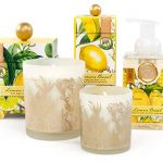 The Backyard Naturalist stocks Michel Design Works 'Lemon Basil' lotions, soaps and candles.