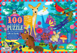 The Backyard Naturalist's favorite nature-themed puzzles for young children features a celebration of natural diversity with beautiful illustrations.