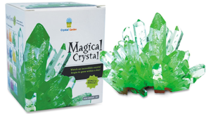 The Backyard Naturalist has science projects for kids, like growing crystals.