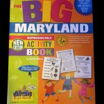 The Big Maryland Activity Book is in stock at The Backyard Naturalist.