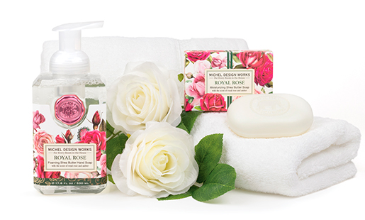 The Backyard Naturalist has Michel Design Works new scent for Spring 2021: Royal Rose.
