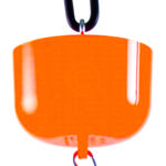 The Nectar Protector Junior - Orange Ant Moat protects nectar feeders from ants. Use on all nectar feeders for Orioles, Hummingbirds, butterflies and more.