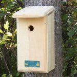 The Backyard Naturalist stocks biologically species correct bird houses in a variety of styles, like this house designed specifically to attract, protect and support nesting Nuthatches.