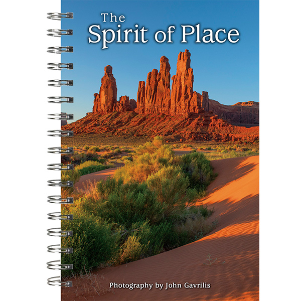The 2021 Spirit of Place Mini Calendar - front